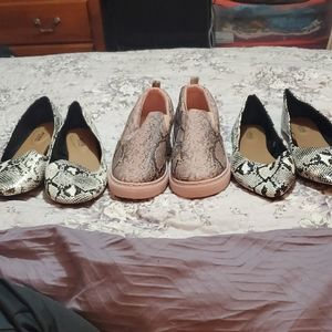 3 new pairs of shoes
